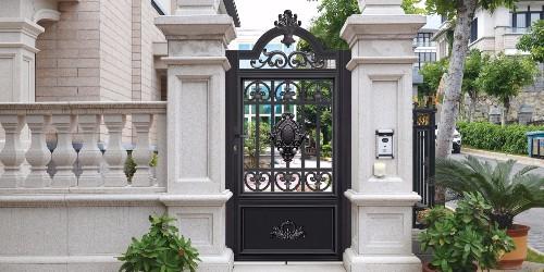 铝艺别墅门怎么设计?别墅大门设计图片及尺寸标准