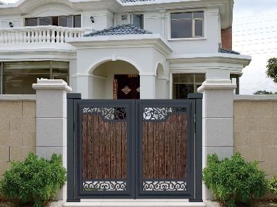 铝艺庭院大门的清洁维护方法,看看你错了多少地方?