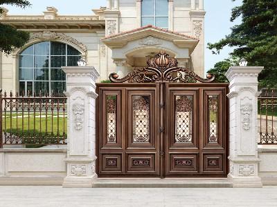 天地轴是别墅大门的非常重要配件,您知道为什么吗?
