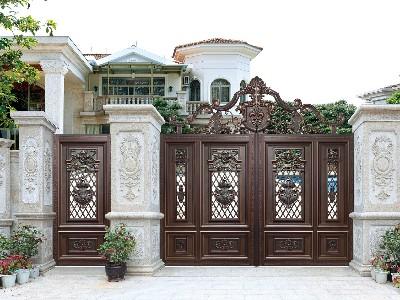 别墅大门的型材加工你知道多少?