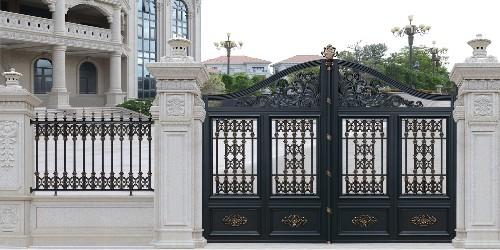 铝艺庭院大门应该这样选,您估计没听过吧?