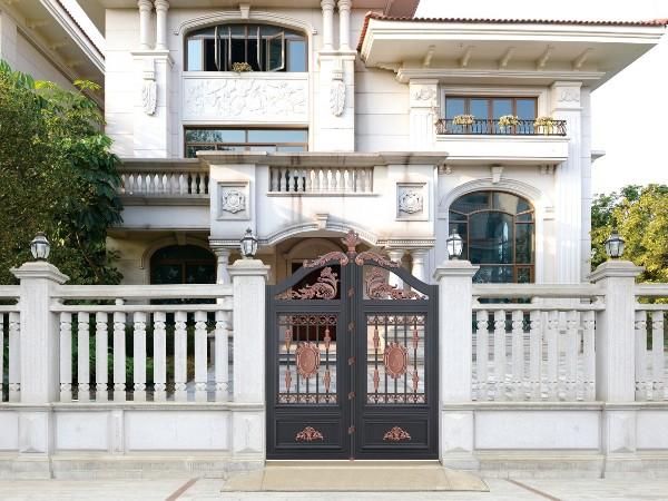 欧式铝艺庭院大门