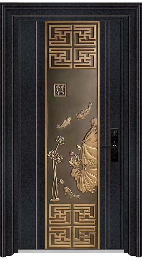 汉仁铝艺防爆门3148