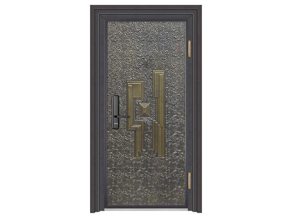 铝艺防爆大门定制家用室内甲级防盗铝合金平开大门