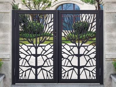 铝艺别墅门的材质众多,该如何挑选?