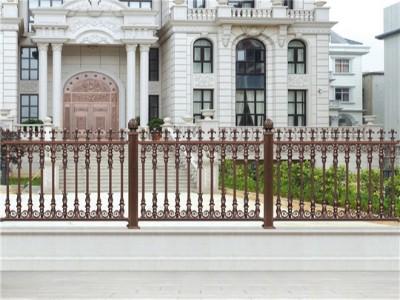铝艺围栏为什么会被广泛应用?