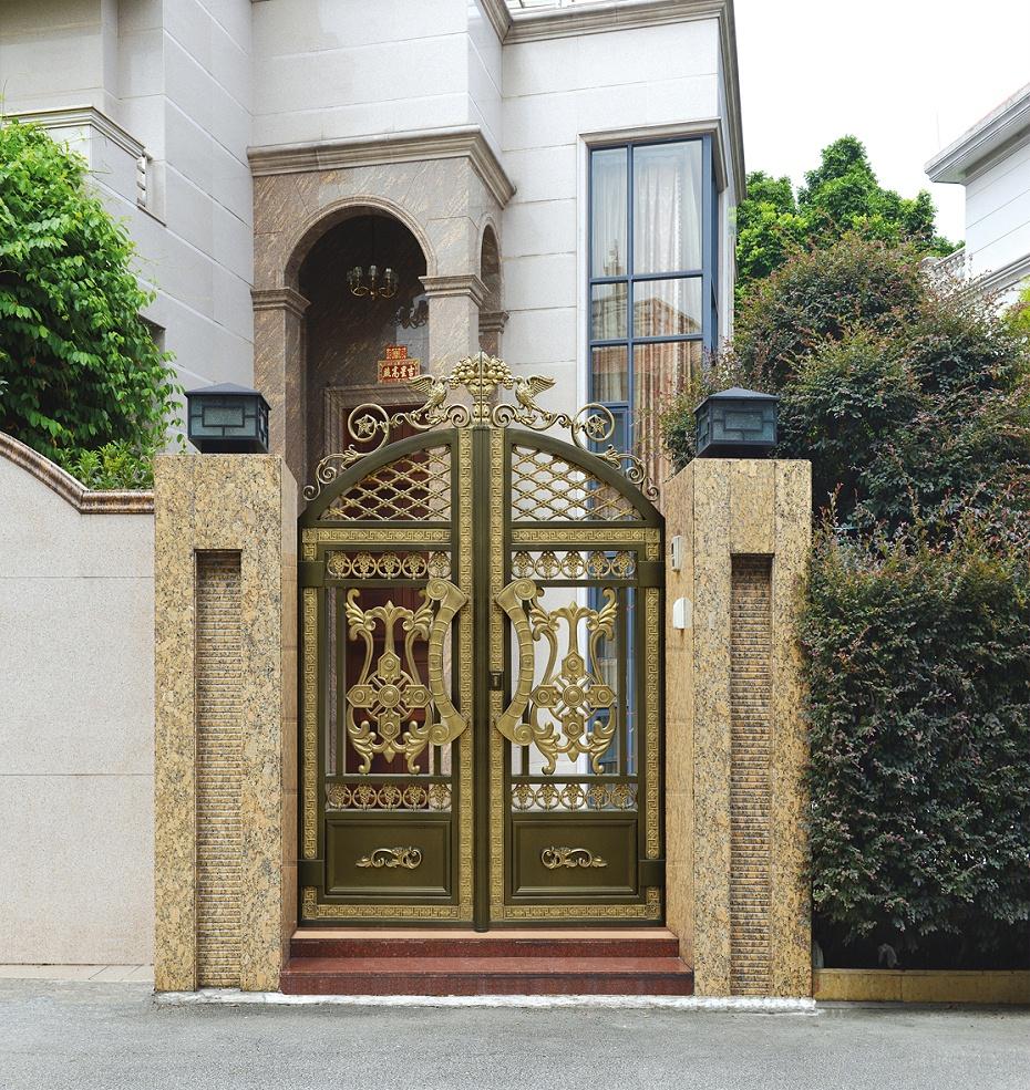 欧式铝艺庭院门