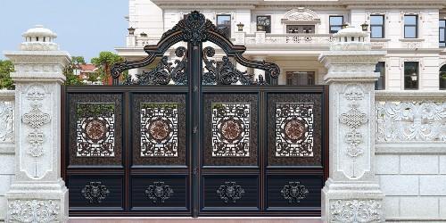 铝艺庭院大门的花格这样用才是正确的