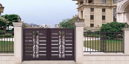 买铝艺庭院大门的三个好处是什么?
