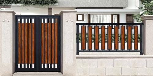 铝艺庭院大门的辨别方法,98%的人都没听过!