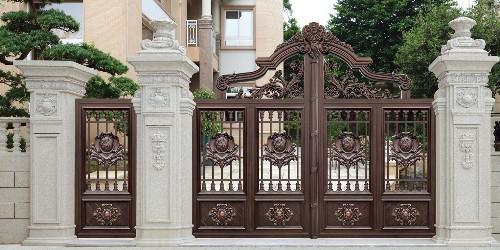 铝艺庭院大门的使用范围越来越广,其焊接工艺又有哪些讲究?