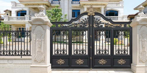 铝艺庭院大门,价格决定高质量的产品对吗?