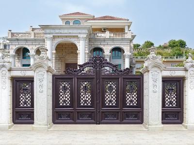 震惊!铝艺别墅门对比铜门和铁艺门的区别?