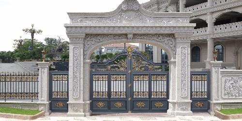 铝艺别墅门有什么吸引人的地方?