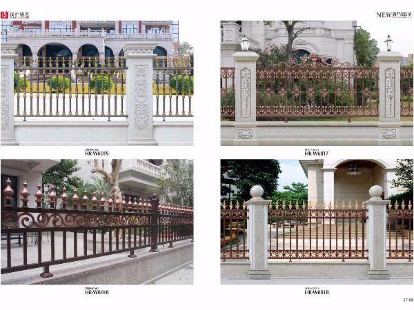 厂家定制铝艺阳台别墅阳台护栏  欧式铝艺围栏阳台护栏
