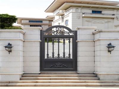 别墅庭院大门如何搭配才好?