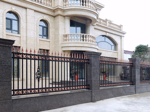 欧式围墙铝艺围栏