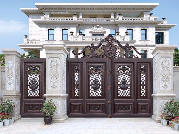 欧式庭院别墅大门 铝合金大门