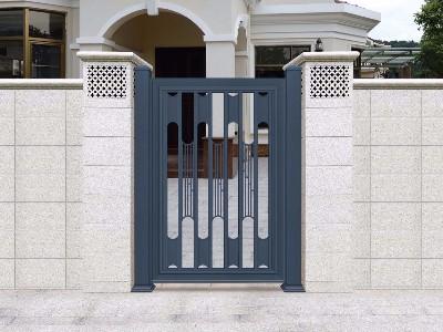 铝艺庭院大门为什么不生锈?