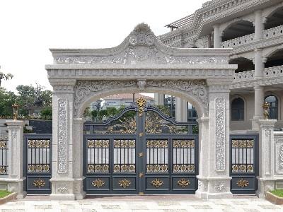 别墅大门为什么要选定制而不是标准的呢?