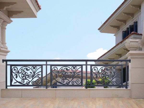 铝合金中式阳台护栏