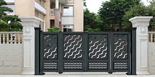 铝艺庭院大门的智能配置,业主们一定要了解
