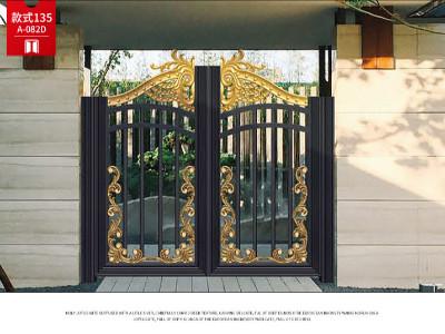 铝艺庭院大门的设计要点
