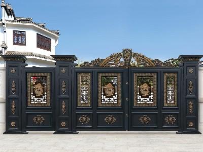 铝合金材料在别墅大门上的运用的优势和其他材质有什么不同?