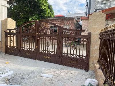 粤西地区茂名邱先生的别墅大门案例
