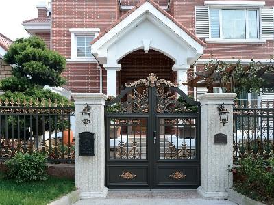 花园的别墅大门四种款式您见过吗?