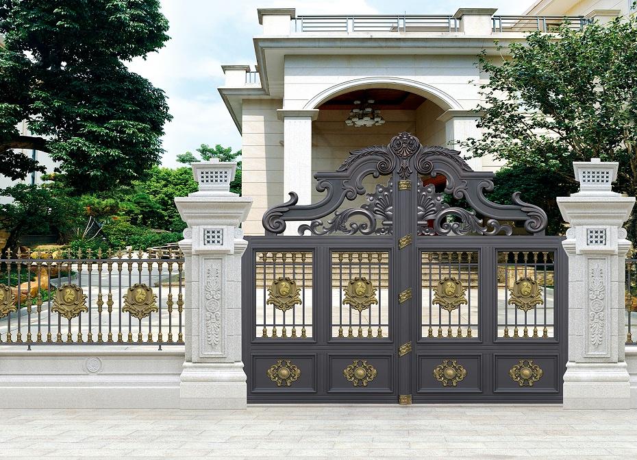 欧式庭院铝艺别墅门