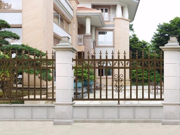 庭院小区铝艺围栏