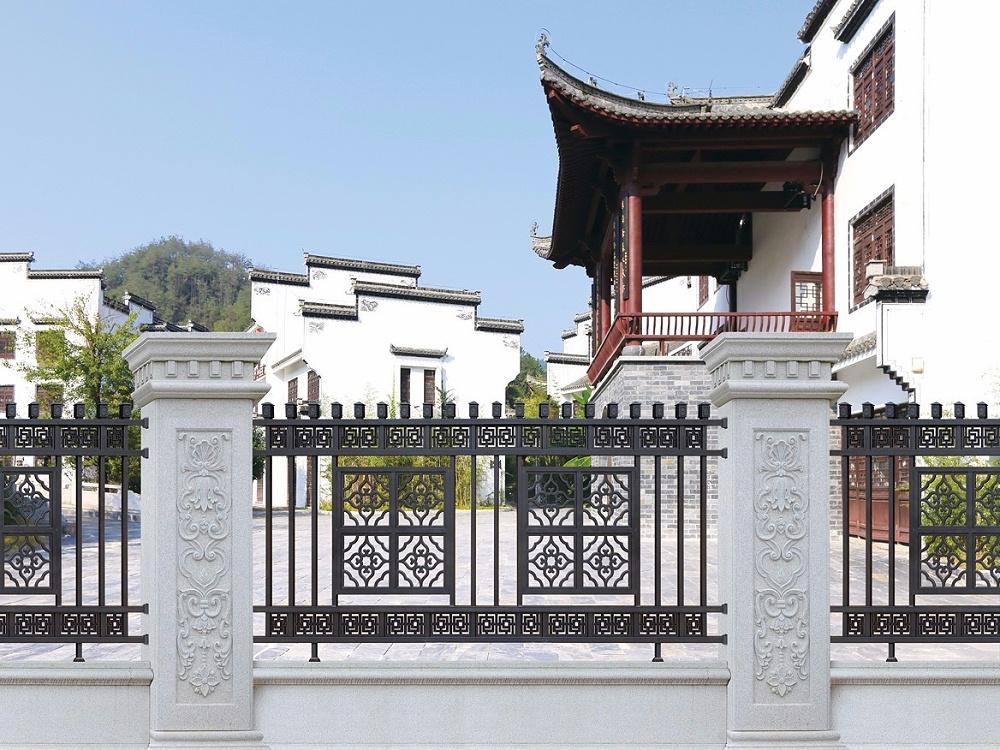 中式典雅铝艺围栏