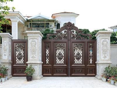 如果能掌握这4招,别墅大门的斑迹会销声匿迹!