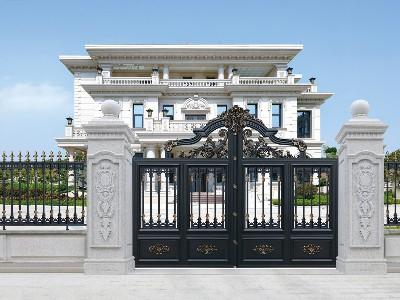 别墅大门的围墙柱子要垒多高多宽才好呢?