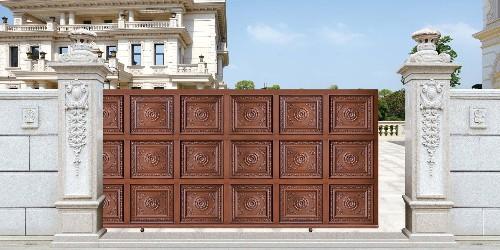 铝艺庭院大门的型材种类有哪些?