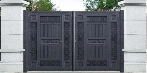 铝艺大门怎么挑选款式,怎样保养使用时间更长?