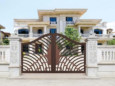 定制铝艺庭院大门,只有我能解决这个门!