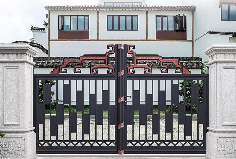 铝艺别墅门