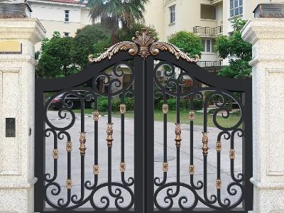 铝艺庭院大门都有哪些零部件