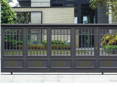 铝艺庭院门有什么独特亮点