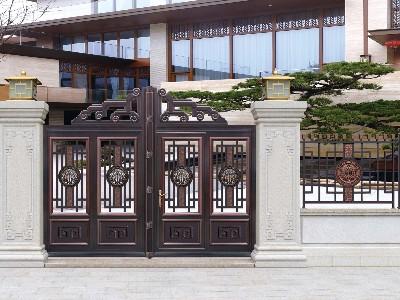 铝艺庭院大门怎样进行挑选?
