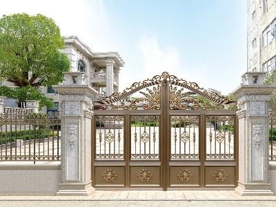 铝艺庭院大门如何成为门窗行业的一匹黑马?