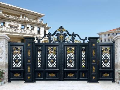 为什么土豪别墅业主都喜欢这种铝艺别墅门呢?