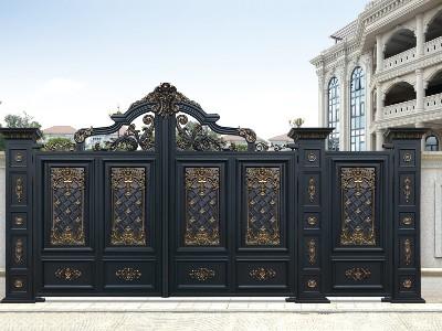 铝艺庭院大门如何选择颜色和款式