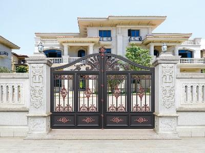 别墅大门怎么选择适合自己的款式?