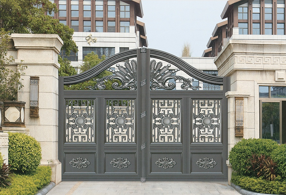 欧式铝合金庭院大门