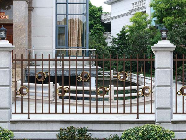 定制别墅庭院围栏,厂家直销铝合金围栏