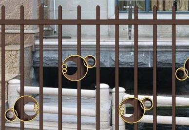 汉仁铝艺围栏细节