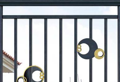 汉仁别墅护栏细节